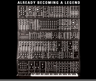 The legendary CLUB OF THE KNOBS synthesizer