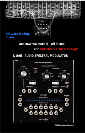Audio Spectral Modulator